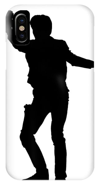 Han Solo Star Wars Tee IPhone Case