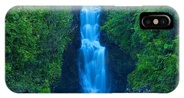 Hana Waterfall IPhone Case