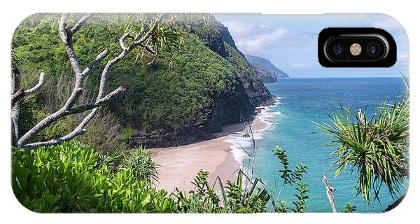 Pacific Ocean iPhone Case - Hanakapiai Beach by Brian Harig