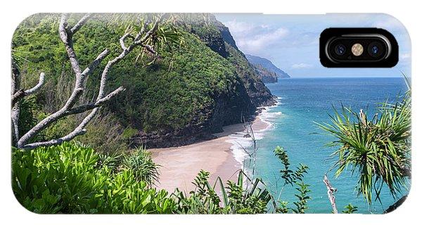 Hanakapiai Beach IPhone Case