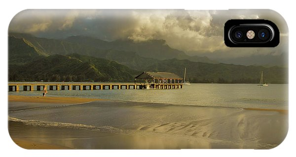 Hanalei Bay Reflections IPhone Case