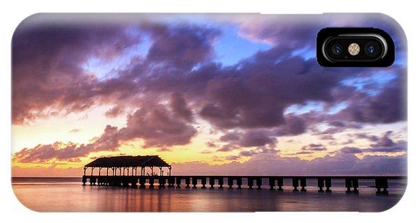 Hanalei Pier IPhone Case
