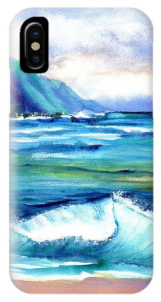 Hanalei Sea IPhone Case
