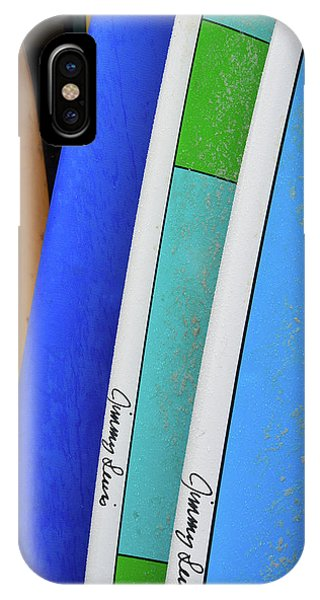 iPhone Case - Hanalei Surfboards by Kathy Yates