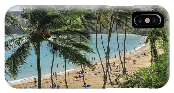 IPhone Case featuring the photograph Hanauma Bay by Steven Sparks