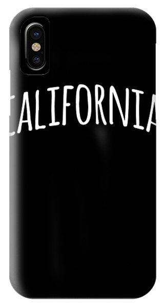 Hand California IPhone Case