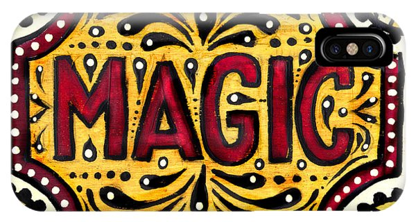 Hand Painted Magic  IPhone Case