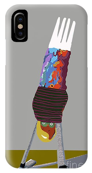 Hand Stand IPhone Case