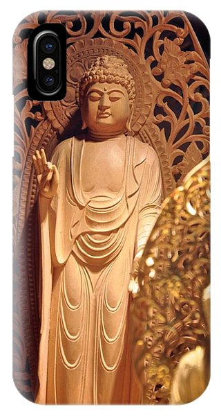 Handcarved Buddha IPhone Case