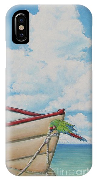 Hanging By A Thread IPhone Case