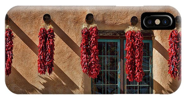 Hanging Chili Ristras - Taos IPhone Case