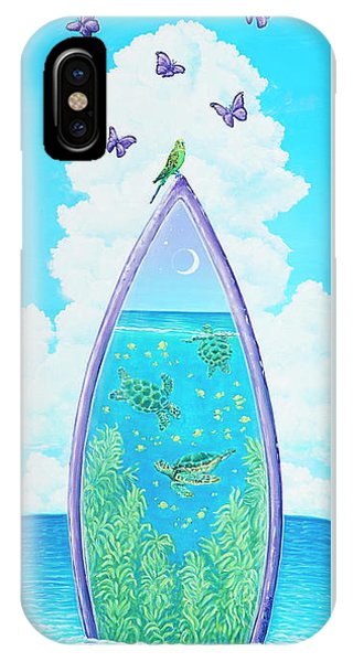 Hanging On To Paradise IPhone Case