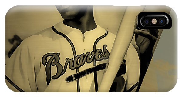Hank Aaron Collection IPhone Case