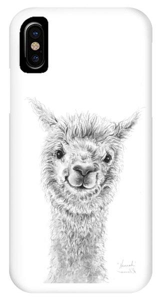 Llama iPhone Case - Hannah by K Llamas