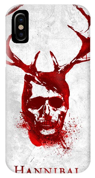 Hannibal Tv Show Poster IPhone Case