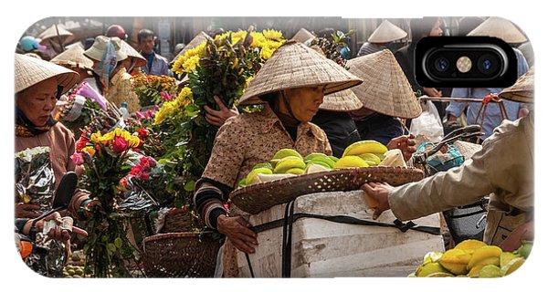 Hanoi Market 02  IPhone Case