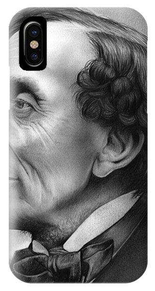 Fairy iPhone Case - Hans Christian Andersen by Greg Joens