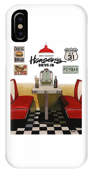 Hansen's Drive-in IPhone Case