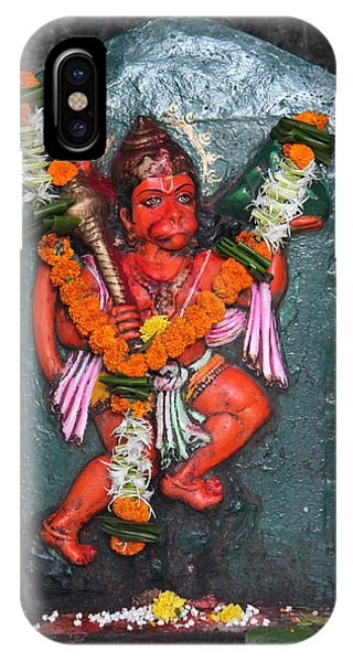 Hanuman Ji, Somewhere Near Ganeshpuri IPhone Case