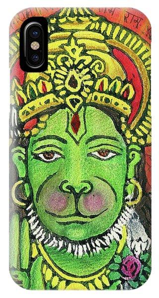 Hanuman Portrait  IPhone Case