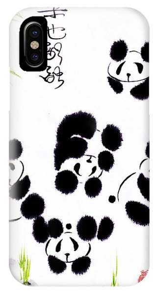 Happiness Is Getting Along IPhone Case