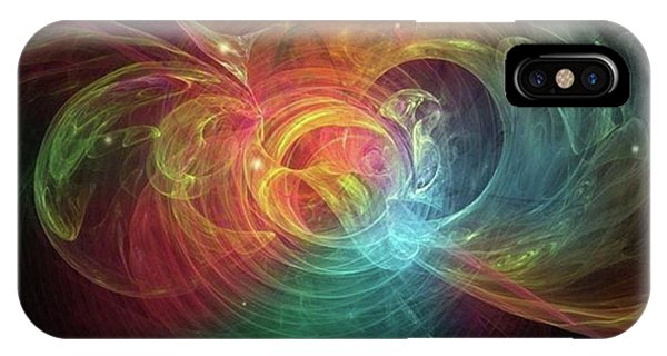 Happiness Unlimited #art #abstract Phone Case by Michal Dunaj