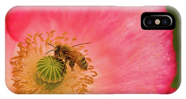 Happy Bee IPhone Case