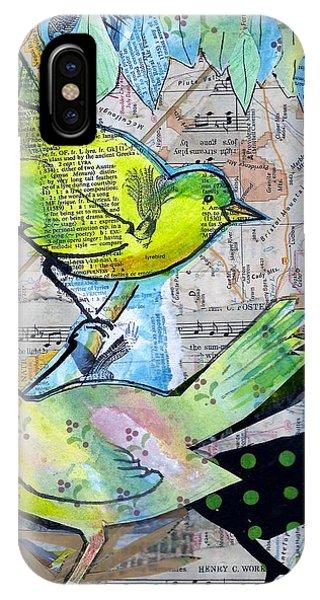 Happy Birds IPhone Case