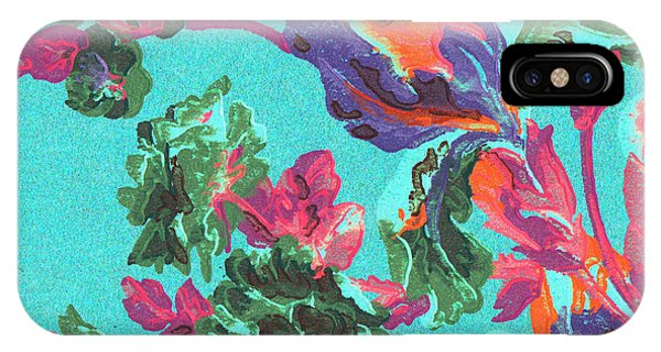 Happy Blooms IPhone Case