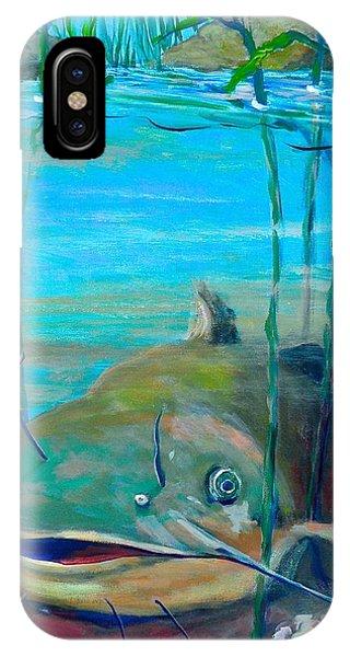 Happy Catfish IPhone Case
