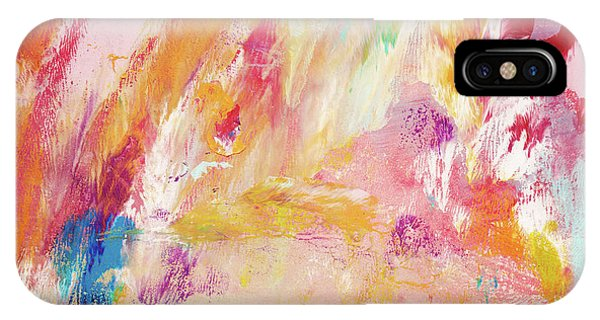 Vivid Colors iPhone Case - Happy Day- Abstract Art By Linda Woods by Linda Woods