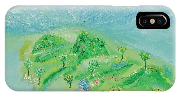 Happy Days. Landscape IPhone Case