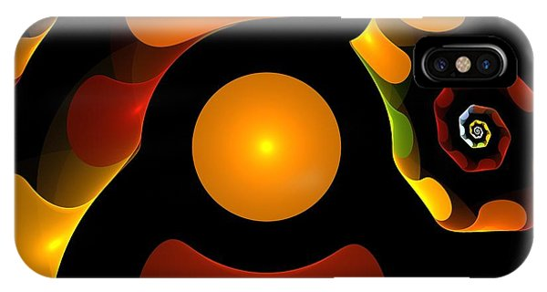 Expressionism iPhone Case - Happy Digit by Steve K