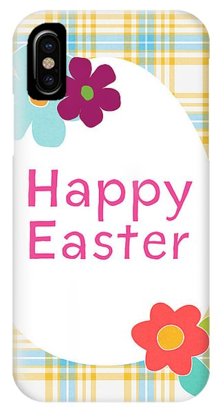 Eggs iPhone Case - Happy Easter Egg- Art By Linda Woods by Linda Woods