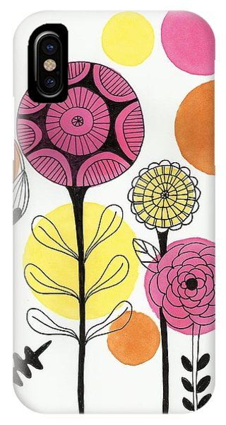 Happy Flowers IPhone Case