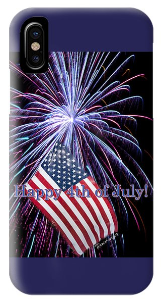 Happy Fourth Of July IPhone Case