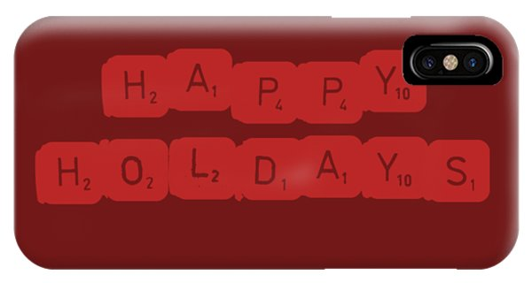Holiday iPhone Case - Happy Holidays by Rosemary Nagorner