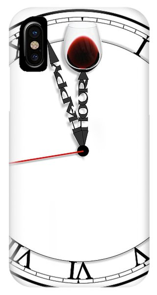 IPhone Case featuring the digital art Happy Hour by ISAW Company