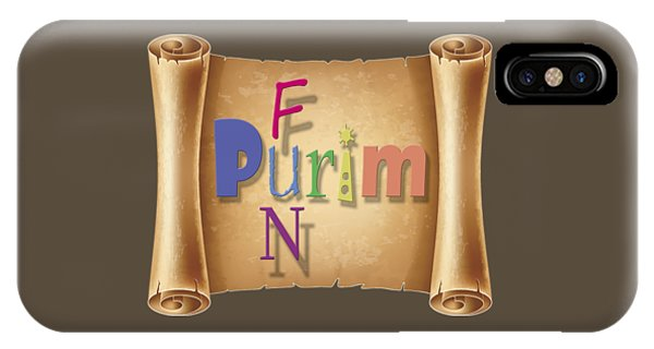 Jewish Humor iPhone Case - Happy Joyous Fun Purim  by Humorous Quotes