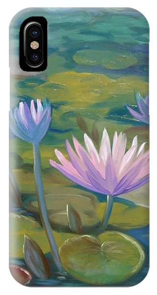 Happy Lilies Phone Case by Tan Nguyen