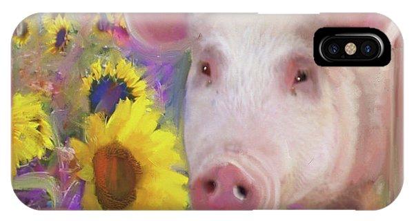Happy Pig  IPhone Case