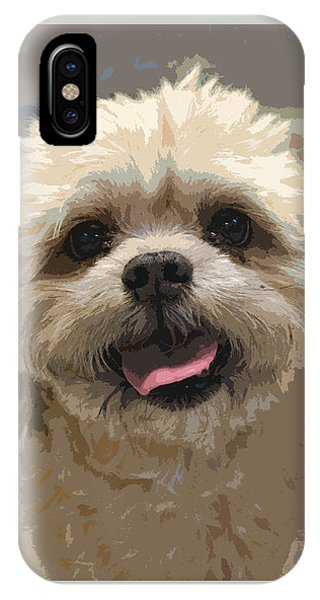 Happy Shih Tzu IPhone Case