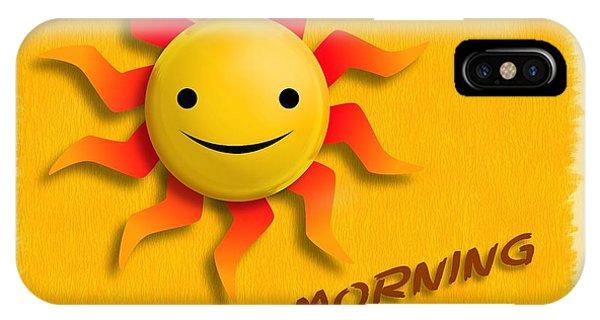 Happy Sun Face IPhone Case