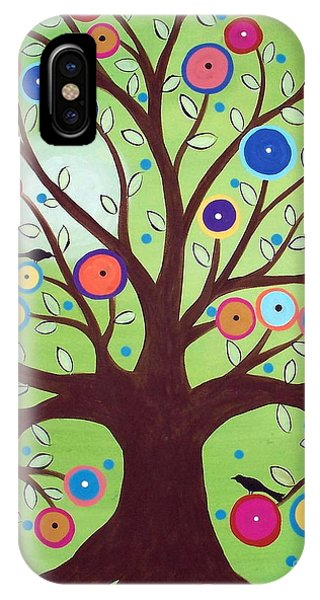 Happy Tree IPhone Case