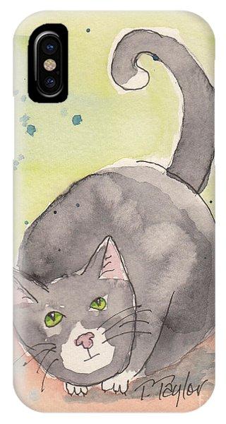 Happy Tuxedo IPhone Case
