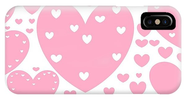 'just Hearts' IPhone Case