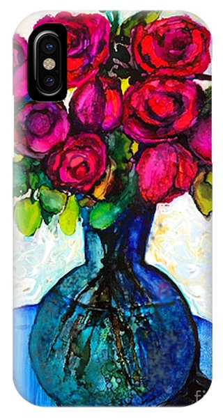 IPhone Case featuring the painting Happy Valentine's Day by Priti Lathia