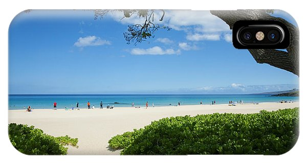 Hapuna Beach IPhone Case