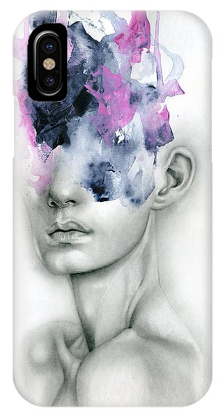 Portraits iPhone X Case - Harbinger by Patricia Ariel