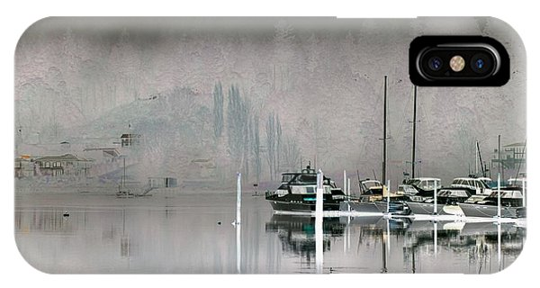 Harbor And Boats IPhone Case